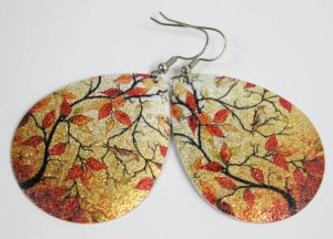 Autumn Earrings - Belle on a Budget
