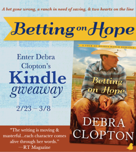 Betting on Hope Giveaway