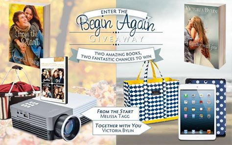 Begin Again Giveaway