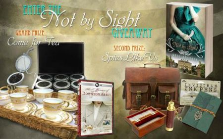 Not By Sight Giveaway