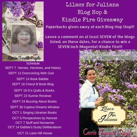 Blog Hop- Lilacs for Juliana