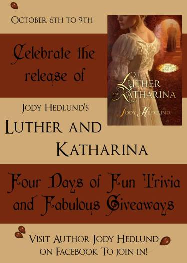 Luther and Katharina Release Week
