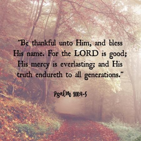Psalm 1004-5