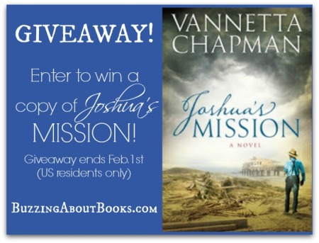 Giveaway graphic- Joshua's Mission