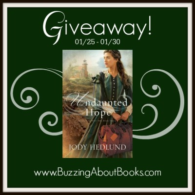 Giveaway graphic- Undaunted Hope