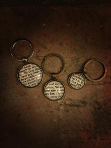 Literary Keychains