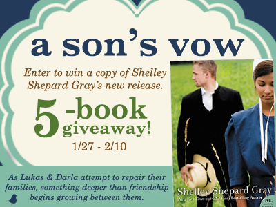 A Son's Vow 5 Book Giveaway