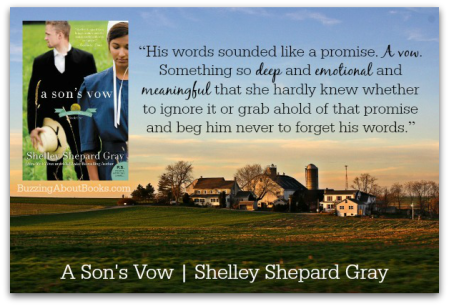 Quote- A Son's Vow by Shelley Shepard Gray