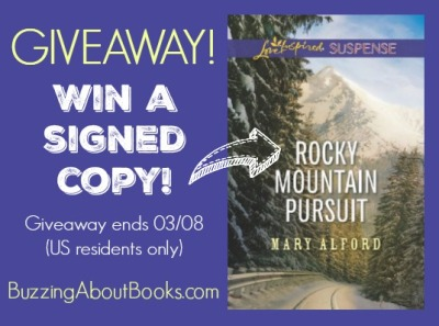 Giveaway- Rocky Mountain Pursuit
