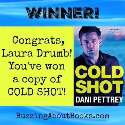 Giveaway winner- Cold Shot