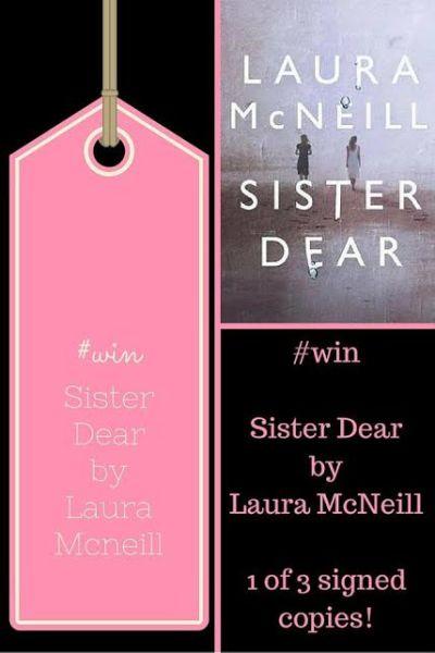 Sister Dear Giveaway- Pinterest