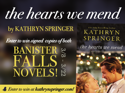 The Hearts We Mend giveaway
