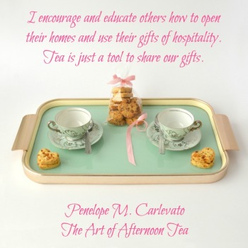 Quote- The Art of Afternoon Tea