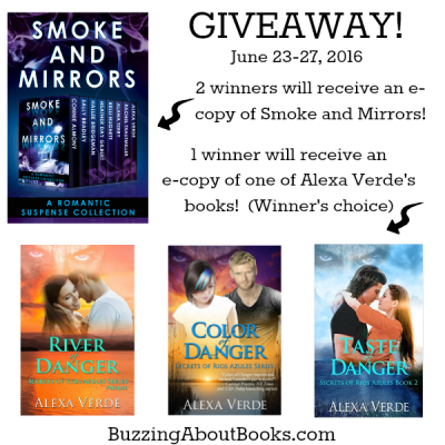 Giveaway- Smoke and Mirrors