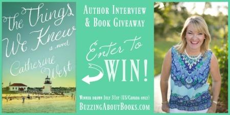 Author Interview- Catherine West