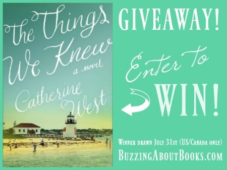 Giveaway- The Things We Knew